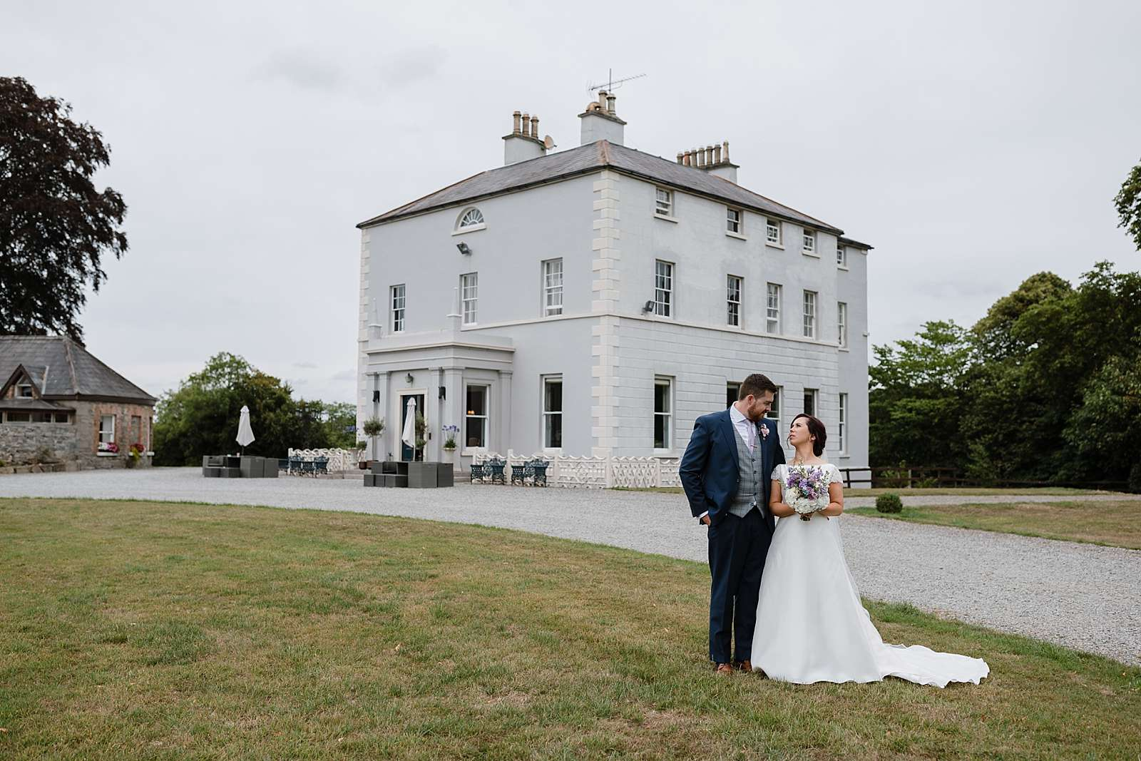A summer wedding at Boyne Hill House